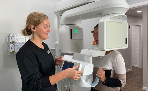 Dr Matthew Bender and Dr Scott Lewis at Meadowbrook Dental in Salt Lake City, Utah have a CBCT Xray Unit that allows them to visualize their patients' oral cavity in 3D for better diagnosis and treatment outcomes